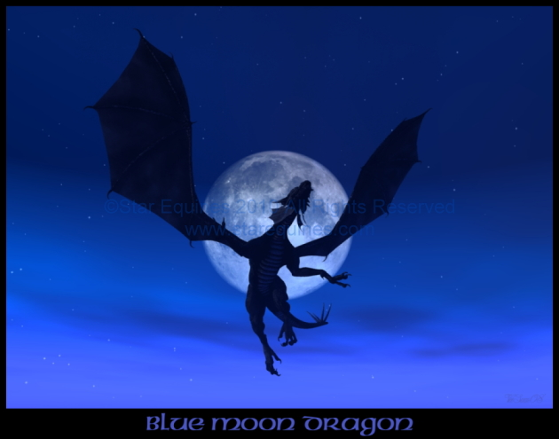 If I were a dragon ... I would look like this .. - Page 4 BlueMoonDragonCat